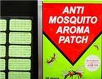 Miếng dán chống muỗi không tốt cho khứu giác trẻ