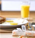 Không nên uống kháng sinh kèm vitamin C