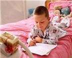Những cách đơn giản giúp bé tập viết