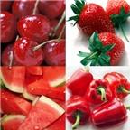 6 loại trái cây màu đỏ tốt cho sức khỏe
