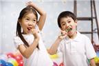 Dạy trẻ cách đánh răng khoa học