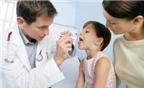 Chăm sóc bé bị đau họng
