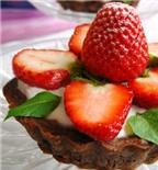 Học làm bánh: Bánh sữa chua dâu tây