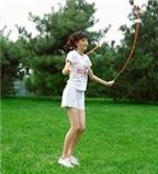 Nhảy dây - có lợi cho sức khỏe
