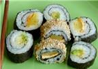 Sushi rau dành cho người ăn chay