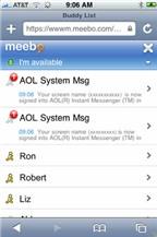 Meebo.com - Chat với nhiều phong cách khác nhau