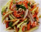 Món ngon ăn Tết: Gỏi vỏ dưa hấu