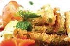 Món ngon ăn Tết: Xà lách rau muống chiên giòn