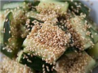Món ngon ngày Tết: Salad dưa chuột vừng rang