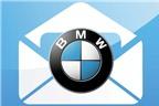 Nhận e-mail trên xe BMW