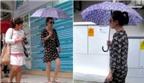 Triệu Vy đi chăm sóc sắc đẹp ở Singapore