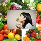 Những sai lầm khi ăn rau quả