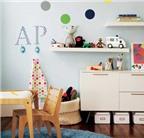 8 bí quyết trang trí phòng cho trẻ