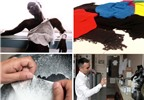 Tạo quần áo bằng cách phun sơn