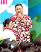 Minh Béo giúp trẻ em tìm hiểu an toàn giao thông