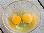 Lòng đỏ trứng trị mụn trứng cá?
