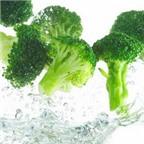 Không nên thái rau trước khi rửa