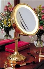 Chọn đèn cho gương trang điểm