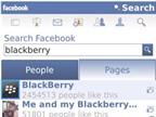 Phiên bản Facebook dành cho BlackBerry