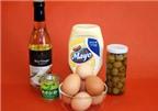 """Trứng trộn mayonnaise dành cho các bạn """"yếu tim"""""""