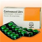 Thận trọng khi dùng co-trimoxazol kháng khuẩn đường ruột