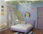 Thiết kế phù hợp với phòng trẻ em
