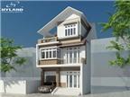 Thiết kế biệt thự mặt phố trên diện tích 8,5 x 15,7m