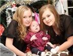 Cặp sinh ba ra đời cách nhau 11 năm