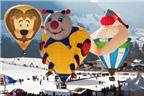 Độc đáo lễ hội khinh khí cầu ở Thụy Sĩ
