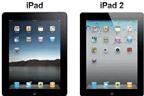 Những khác biệt giữa iPad và iPad 2