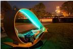 Ghế dài nạp năng lượng mặt trời