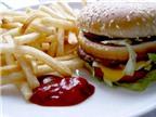 Thức ăn nhanh: nhiều calo, dinh dưỡng thấp