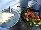 Thức ăn hàng quán: nghèo dinh dưỡng, nhiều mầm bệnh
