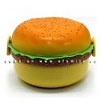 Hộp cơm hình… hamburger xinh xắn