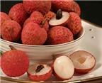 """Phụ nữ không nên ăn nhiều quả vải trong kỳ """"đèn đỏ"""""""