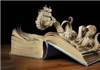Độc đáo nghệ thuật cắt sách Nhật Bản