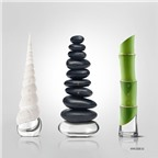 Thiết kế lọ nước hoa phong cách Thiền