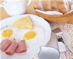 5 sai lầm trong bữa ăn sáng