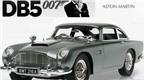 Mô hình siêu xe Aston Martin DB5 của điệp viên 007