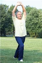 Tập thể dục ở tuổi già