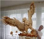 Những con vật làm từ gỗ độc đáo