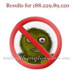 Hiểm họa lây nhiễm Virus từ trang Web giả IP 188.229.89.120