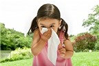 Chăm sóc mũi cho trẻ lúc giao mùa
