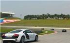 Thử sức siêu xe Audi R8 trên đường đua F1