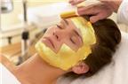 Chăm sóc da mặt bằng vàng 24K
