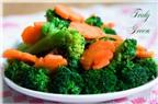 Cà rốt và súp lơ xanh giúp chống ung thư