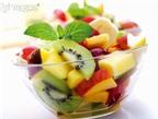 Phòng u xơ tử cung, hãy ăn nhiều hoa quả