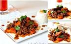 Ngon ngọt món thịt bò kho tộ cùng khoai lang