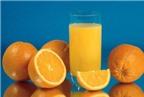 Có nên cất giữ nước cam?