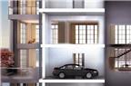 """Gara chọc trời"" Porsche Design Tower"